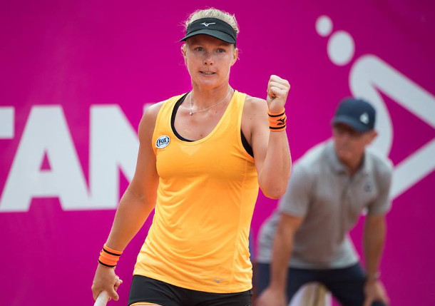 Bertens Sweeps Singles, Doubles Titles In Gstaad