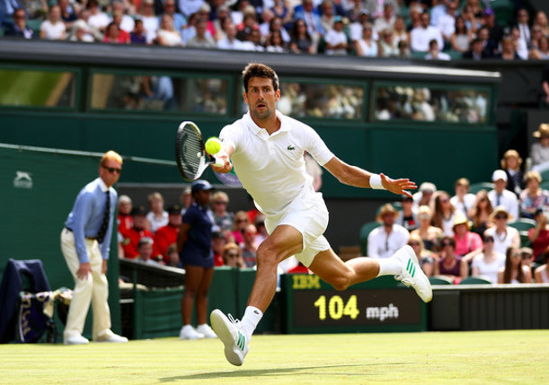 Djokovic Cruises Into Wimbledon Second Round