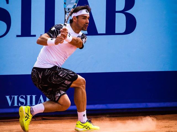 Fognini to Face Gulbis In Gstaad