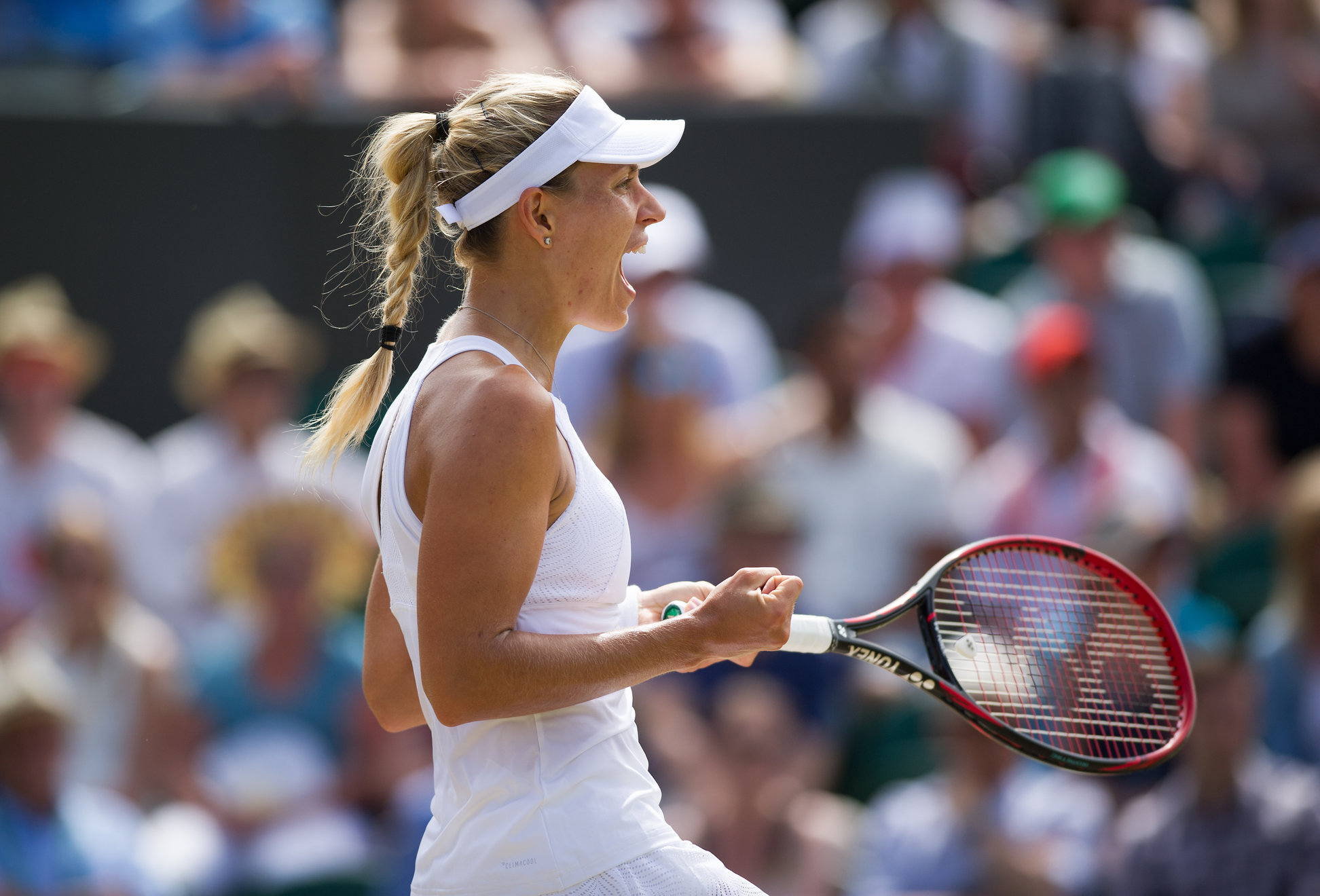Despite loss, Kerber believes she's on the right path