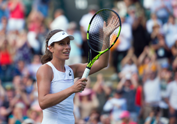 Konta Rubs Elbows with Music Luminaries at Wimbledon