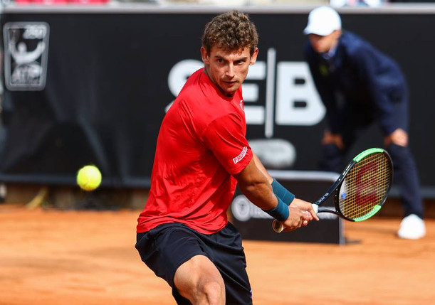 Carreno Busta, Cuevas Fall in Bastad