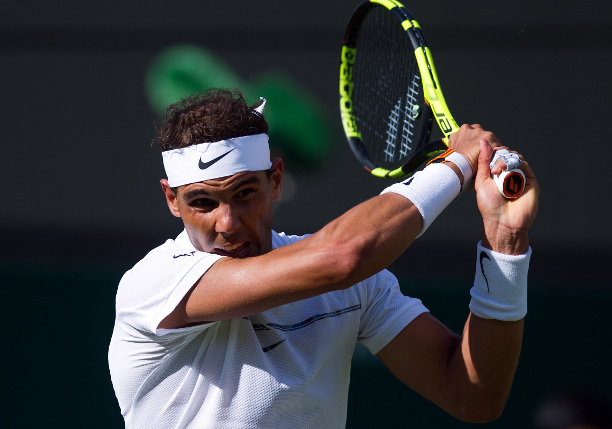Nadal Rolls Winning Wimbledon Return