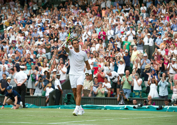 Nadal Into Wimbledon Round of 16