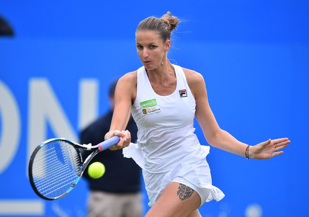 Pliskova Powers To Eastbourne Title