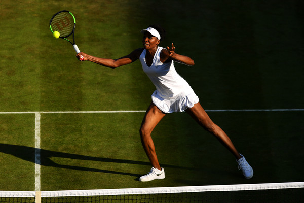 Venus Schools Osaka To Reach Wimbledon Second Week