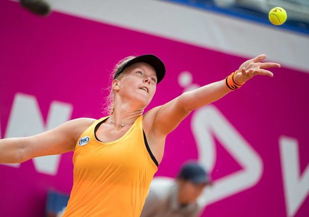 Seeded Garcia loses to 140th-ranked Martincova at Gstaad