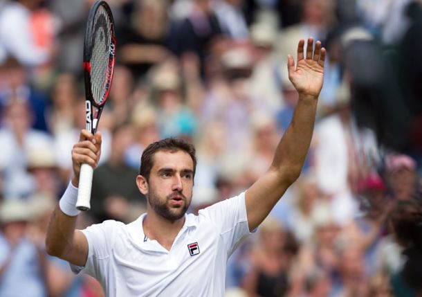 Cilic Powers Past Querrey and into Wimbledon Final