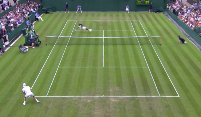 Dustin Brown Sets the Bar High on Day 1 at Wimbledon