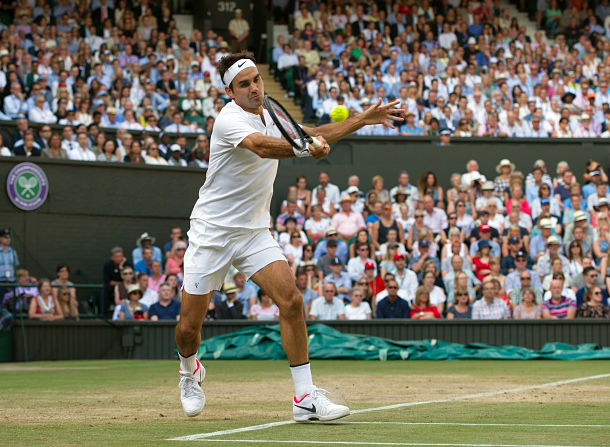 On a Day of Shock, Federer Emerges Invigorated