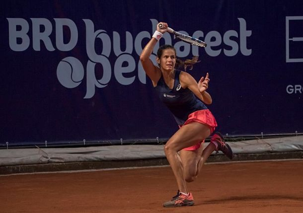 Georges Rounds out Bucharest Semis