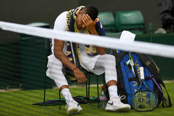 Kyrgios Makes Early Exit at Wimbledon
