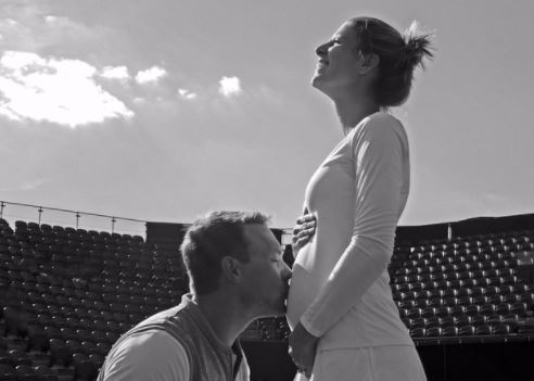 Mandy Minella's Four and a Half Months Pregnant, and Still Playing at Wimbledon