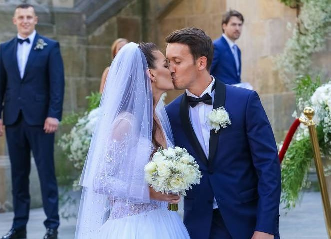 Photos: Radwanska Marries Dawid Celt in Well-Attended Ceremony