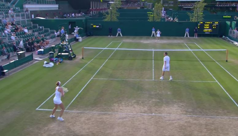 Watch: Salisbury Stakes Claim for Shot of Wimbledon's Week One