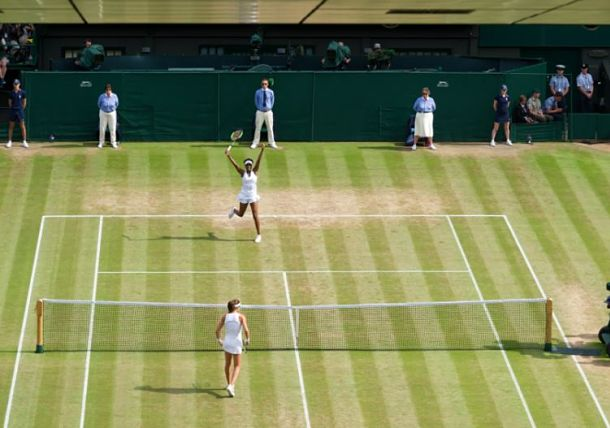 Venus Williams Turns Back Time and Johanna Konta at Wimbledon