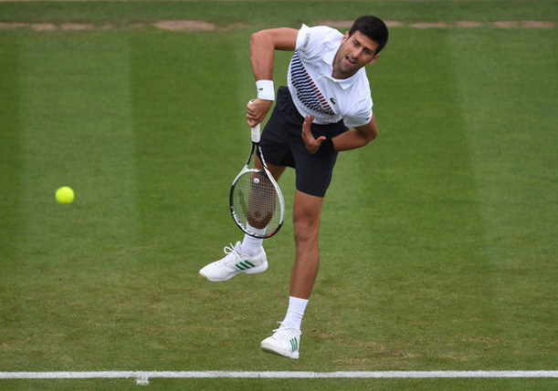 Djokovic Battles Into Eastbourne Semifinals