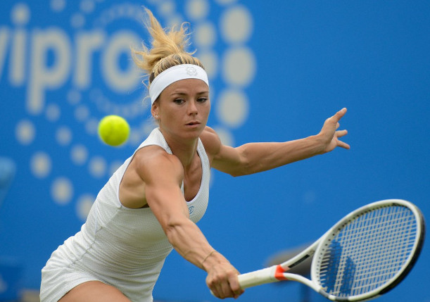Giorgi Topples Second-Seeded Svitolina