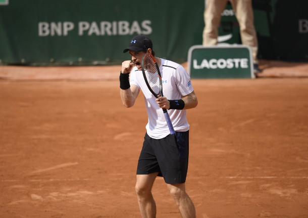 Murray Grinds Into Fifth RG Semifinal
