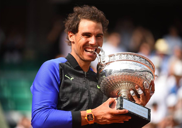 Watch: Where Nadal's Trophies Live