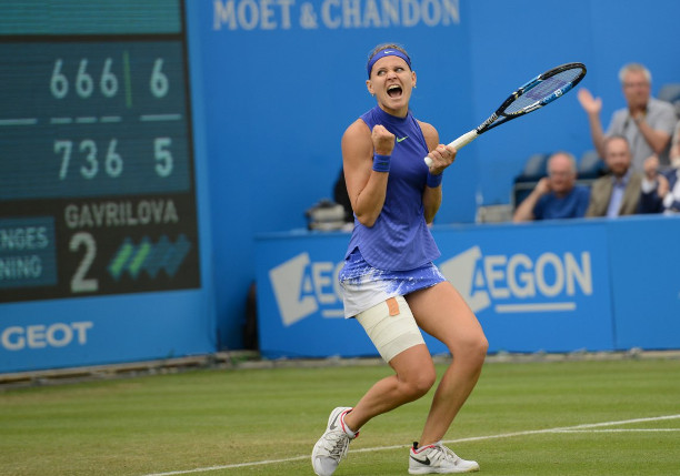 Safarova Saves Match Points in Birmingham Epic