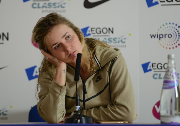Hobbled Svitolina Unsure on Wimbledon