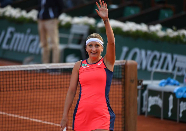 Bacsinszky Bursts Into Second Roland Garros Semifinal