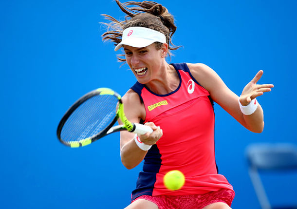 Konta Reaches First Career Final on Grass in Nottingham