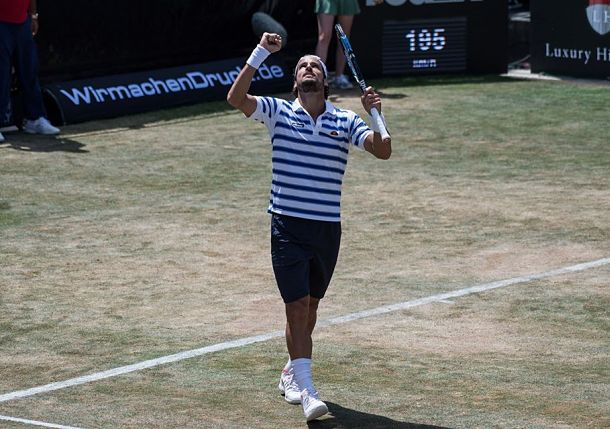 Lopez Serves 19 Aces and Pushes Past Berdych at Mercedes Cup