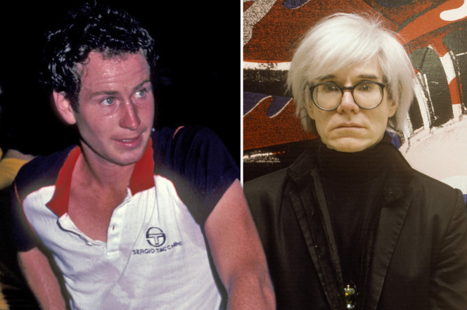 McEnroe Bemoans Andy Warhol Interferred with Love Live in New Book