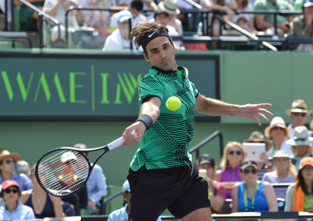 Federer Wins, Wawrinka Loses in Miami