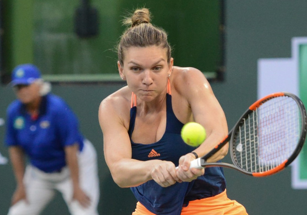 With Heavy Heart, Halep Returns