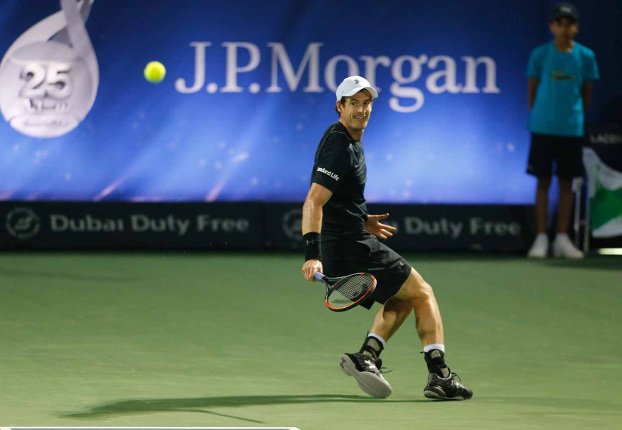 Murray Dissects Verdasco For First Dubai Title