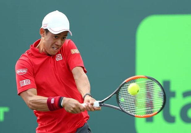 Anderson Beats Thiem Again as Nishikori Outlasts Del Potro
