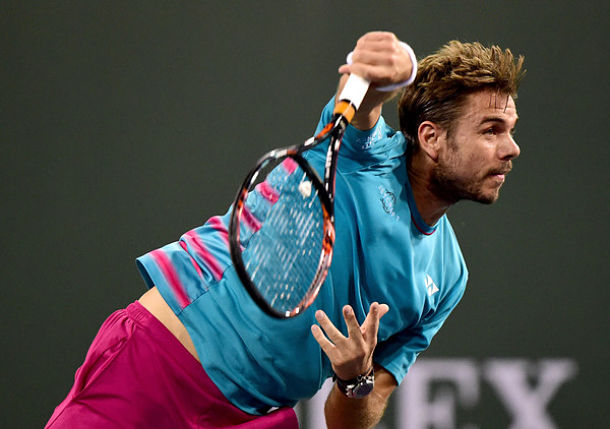 Wawrinka Edges Thiem to Reach First Indian Wells Semifinal