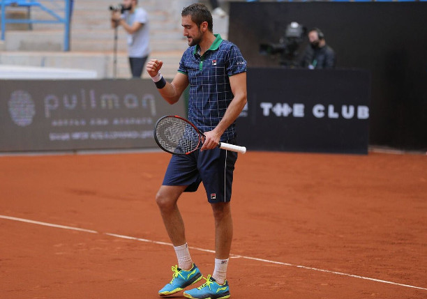 Cilic Rolls to 400th Career Win in Istanbul