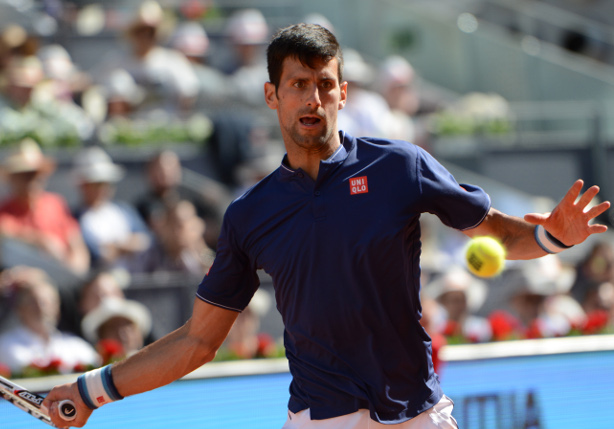 Djokovic Downs Del Potro In Rome