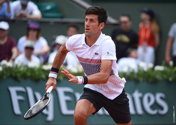 Djokovic Sweeps Sousa, Reaches Third Round