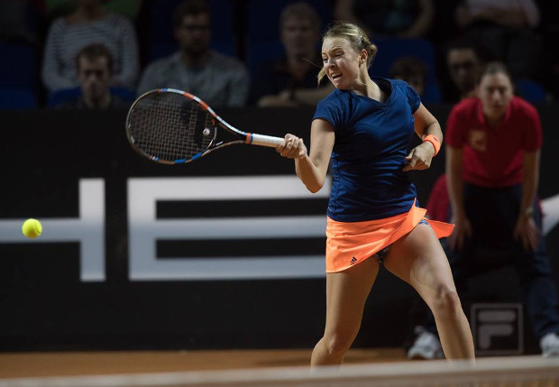 Kontaveit Crushes Kerber in Rome