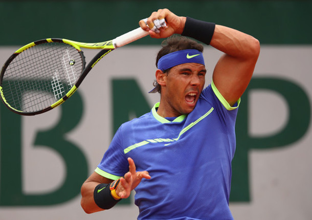 Nadal Pounds Paire, Rolls Into RG Second Round