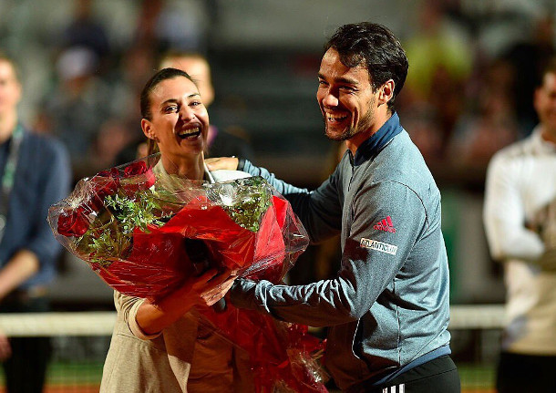 Flavia Pennetta Gives Birth