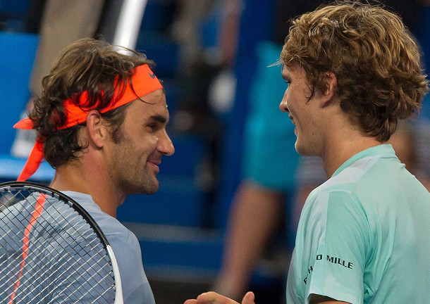 Zverev: Federer is Major Mentor