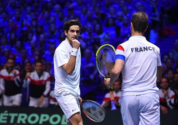 France One Win From Davis Cup
