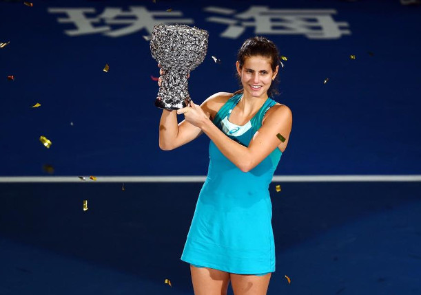 Goerges Tops Vandeweghe For Zhuhai Crown