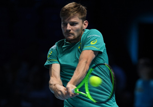 Goffin to Face Federer In London Semifinals