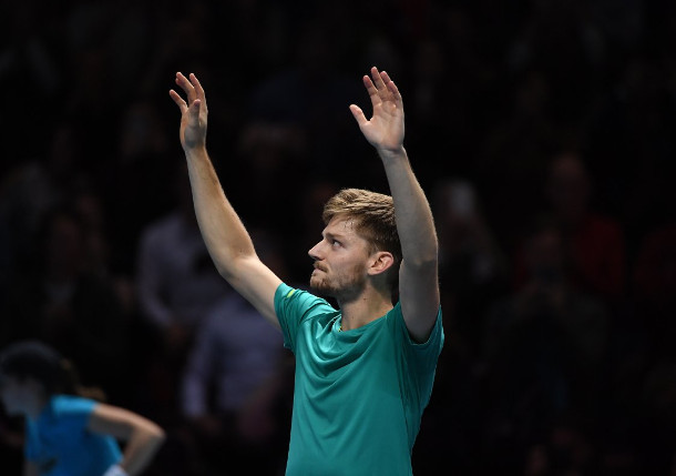 Goffin Shocks Federer, Surges Into Nitto ATP Finals