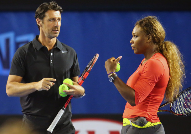 Patrick Mouratoglou, Serena Williams