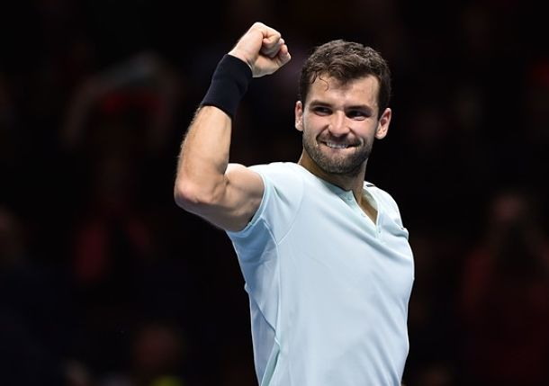 Dimitrov Remains Unbeaten at Nitto ATP Finals