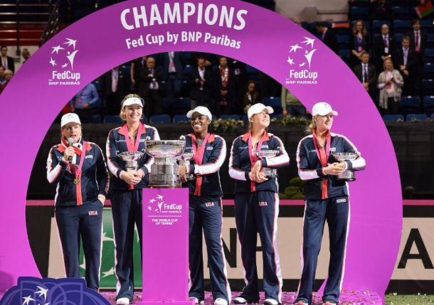 Vandeweghe Powers USA to Fed Cup Title