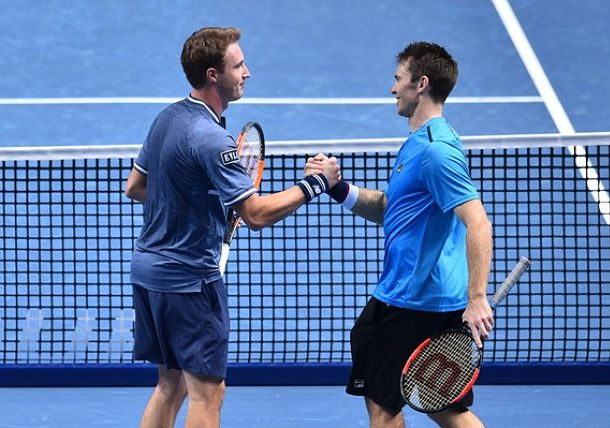 Top Seed to Meet at Nitto ATP Finals Doubles Title Match
